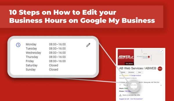 10 Steps on How to Edit your Business Hours on Google My Business