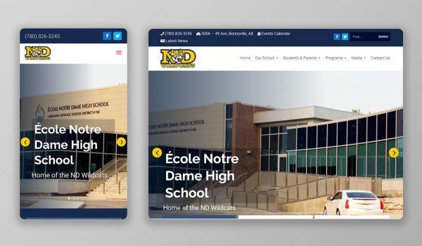 École Notre Dame High School